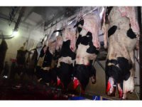 Et ve süt kurumu Aksaray'da hayvan kesimine başladı