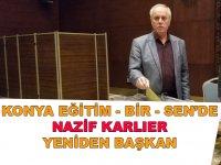 Eskilli Eğitimci Nazif Karlıer yeniden başkan!
