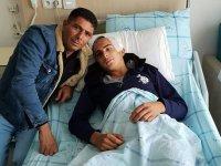 Merdane altında kalarak ağır yaralanan İsmail Karlıer'den iyi haber!