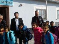Muhtar Adayı İsmail Meral'den öğretmenler gününde anlamlı ziyaretler