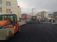 Ereğli'de asfalt çalışmaları sürüyor
