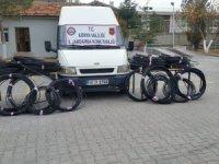 Çihanbeyli'de Jandarmadan kablo hırsızlarına suçüstü