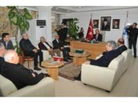 Akşehir Akademisi Vakfı Mütevelli Heyetinden Başkan Akkaya'ya ziyaret