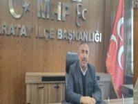 Eskilli Ömer Karaer MHP Karatay Belediye Meclis Üyesi Aday Adayı oldu