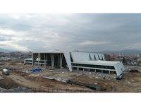 Konya'nın yeni YHT Garı havadan görüntülendi