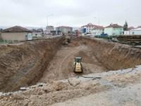 Ereğli'de Türkmen Kavşağı'nda çalışmalar hızlandı