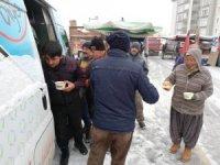 Ereğli Belediyesinden pazar esnafına sıcak çorba ikramı
