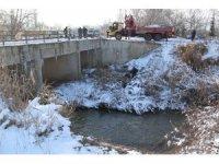 Konya'da otomobil kanala düştü: 1 yaralı