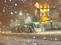 Konya'nın 5 ilçesinde eğitime kar tatili