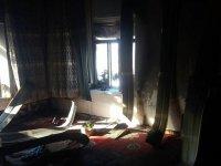 Evi yanan Eskilli aileye destek çağrısı