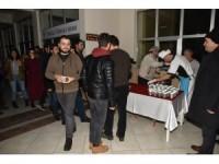 NEÜ'de sınavlara hazırlanan öğrencilere çorba ikramı