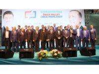 Ak Parti Aksaray'da Adaylarını Tanıttı! Belgemen ve Başkan Resmen Aday!