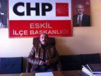 Mehmet Keskin CHP Eskil İlçe Başkanlığı'na aday