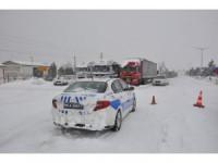 Konya-Antalya karayolu trafiğe kapandı