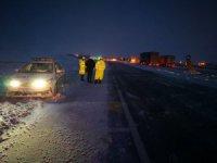 Aksaray'da Ulaşıma Kar Engeli, Eskil'de Dahil Perşembe  Okullar Tatil