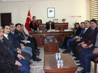 Eskil'de Seçim Güvenliği Toplantısı Yapıldı