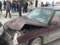 Eşmekaya'da trafik kazası