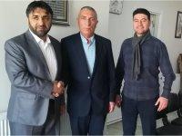 Muhtar Adayı İsmail Meral'den Eskil-Eşmekaya Derneği Başkanı Cengiz İriş'e ziyaret