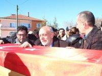 Belçika'da öldürülen Türk memleketi Konya'da defnedildi