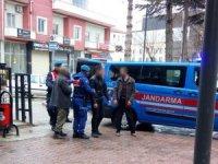 Konya'da tarım aleti çalan 3 şüpheli yakalandı