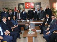 AK Parti Sözcüsü Ömer Çelik Aksaray'da
