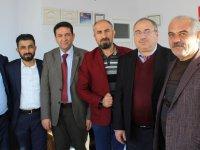 Aksaray Gazeteciler ve Yazarlar Cemiyetinden Eskil Ziyareti