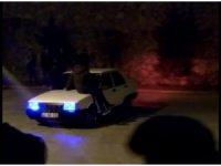 Konya'da drift şovuna 15 bin 30 lira ceza