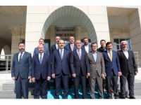 Başkan Altay ve ilçe belediye başkan adayları adaylık başvurusunu yaptı