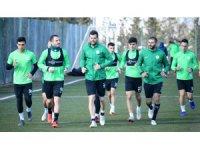 Atiker Konyaspor, Kayserispor maçı hazırlıklarına devam etti