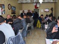 Muhtar Adayı İsmail Meral'den Eskilgücü ve Yeşilovaspor'a Yemek ikramı