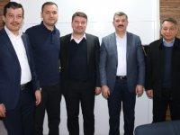 Evren Dinçer'den Aksaray eski Milletvekili Turan Yaldır'a ziyaret