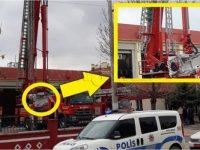 Yangın söndürme tatbikatında Eskilli 2 kız öğrenci yaralandı