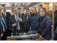 Vali Toprak, Beyşehir ve Derebucak'ı ziyaret etti