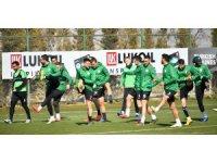 Atiker Konyaspor, Göztepe hazırlıklarına devam etti