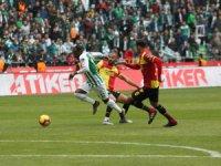 Spor Toto Süper Lig: Konyaspor: 1 - Göztepe: 1 (Maç sonucu)