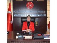 """MHP Selçuklu İlçe Başkanı Çipan: """"Kadın ve çocuk istismarı insanlığa ihanettir"""""""