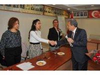 Başkan Akkaya kadın personellerle bir araya geldi
