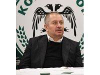 """Konyaspor Başkanı Kulluk: """"Sonuçlar ve sıralama belliyse niye maçlara çıkıyoruz"""""""