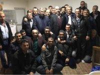 Personelden, Necati Belgemen'e destek toplantısı