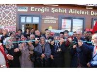 Ereğli'de Şehit Aileleri Derneği'nin açılışı gerçekleştirildi