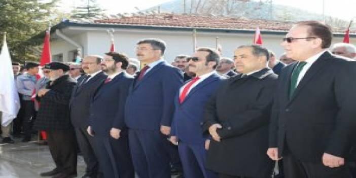 Aksaray Şehitliği'nde tören düzenlendi