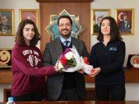 Belediye Başkanı Haluk Şahin Yazgı'ya teşekkür