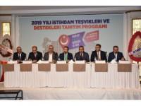 Aksaray'da iş adamları ve bürokrasi lansman toplantısında bir araya geldi