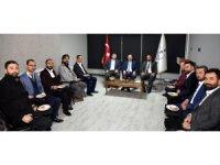 Başkan Pekyatırmacı TÜMSİAD üyesi iş adamlarıyla buluştu