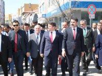 Bakan Kurum'dan Evren Dinçer'in projelerine tam destek