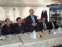 Başkan Ahmet Sorgun'dan veda ziyaretleri