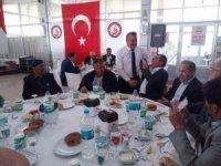 Başkan Tutal, muhtarlarla vefa programında buluştu