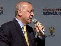 Cumhurbaşkanı Erdoğan'ın Konya mitingi