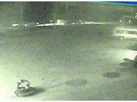 İki kişinin hayatını kaybettiği kazanın kamera görüntüleri ortaya çıktı