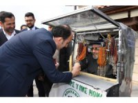 Başkan Altay, tarihi Bedesten esnafını ziyaret etti